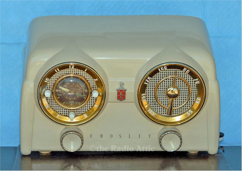 Crosley D-25 Clock Radio (1952)